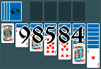 Solitaire №98584