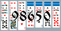 Solitaire №98650