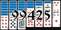 Solitaire №99425