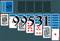 Solitaire №99531