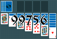 Solitaire №99756