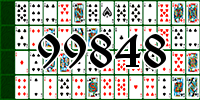 Solitaire №99848