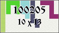 Polyomino №100205