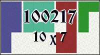 Polyominoes №100217