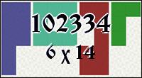 Polyominoes №102334
