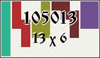 Polyominoes №105013