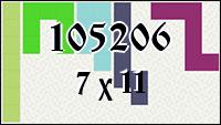 Polyominoes №105206