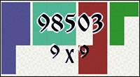 Polyominoes №98503
