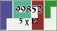 Polyominoes №99852