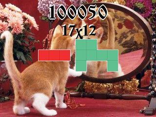 Puzzle polyominoes №100050
