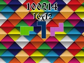 Puzzle polyominoes №100214