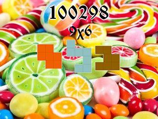 Puzzle polyominoes №100298