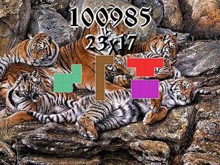 Puzzle polyominoes №100985