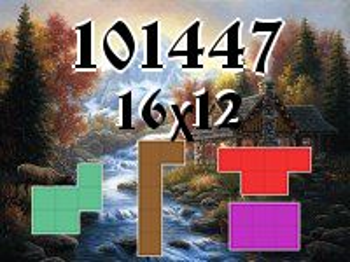 Puzzle polyominoes №101447