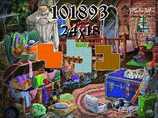 Puzzle polyominoes №101893