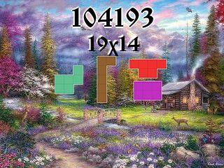 Puzzle polyominoes №104193