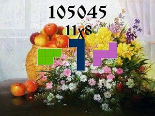 Puzzle polyominoes №105045