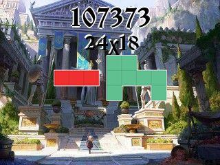 Puzzle polyominoes №107373