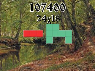 Puzzle polyominoes №107400