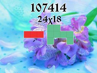 Puzzle polyominoes №107414