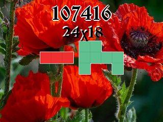 Puzzle polyominoes №107416
