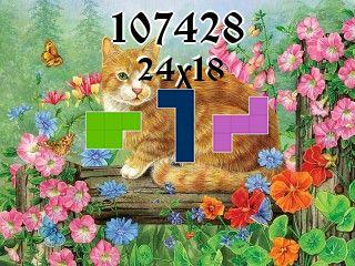 Puzzle polyominoes №107428