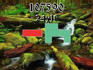 Puzzle polyominoes №107590