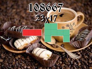Puzzle polyominoes №108667