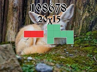Puzzle polyominoes №108678