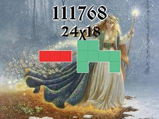 Puzzle polyominoes №111768