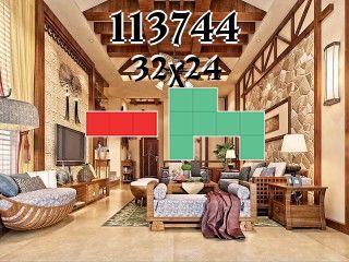 Puzzle polyominoes №113744