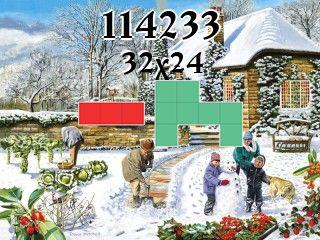 Puzzle polyominoes №114233
