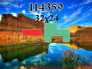 Puzzle polyominoes №114359