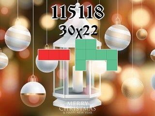 Puzzle polyominoes №115118