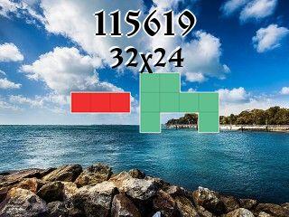 Puzzle polyominoes №115619
