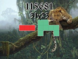 Puzzle polyominoes №115681