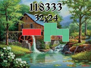 Puzzle polyominoes №118333