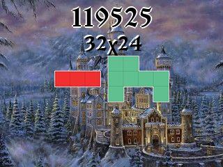 Puzzle polyominoes №119525