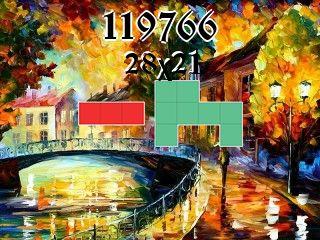 Puzzle polyominoes №119766