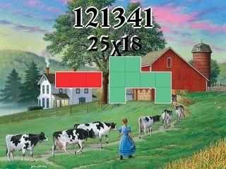 Puzzle polyominoes №121341