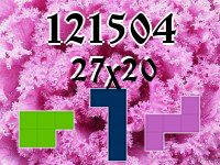 Puzzle polyominoes №121504