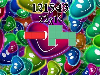 Puzzle polyominoes №121543