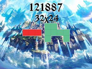 Puzzle polyominoes №121887