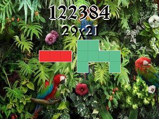 Puzzle polyominoes №122384