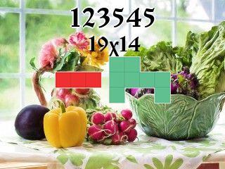 Puzzle polyominoes №123545