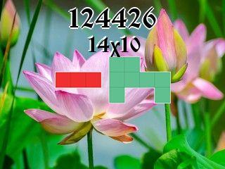 Puzzle polyominoes №124426