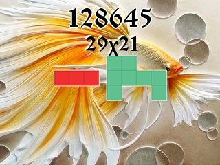 Puzzle polyominoes №128645