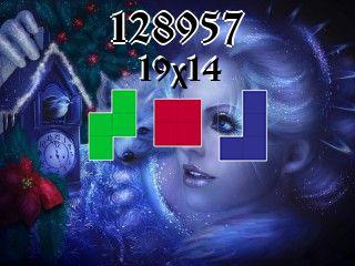 Puzzle polyominoes №128957