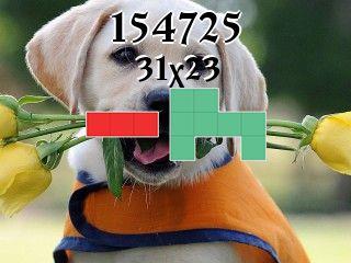 Puzzle polyominoes №154725