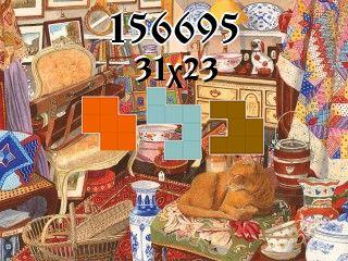 Puzzle polyominoes №156695